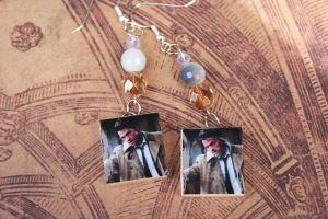 Castiel Earrings by KouranKiyo