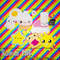 Pack KAWAII PNG by oMiddleofnowhere