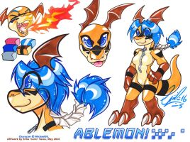 COM: Ablemon Simple Ref by carnival