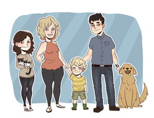 Family Portrait by Ebulliently-Askew