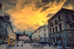 Tartu at sunset by dn1w3r