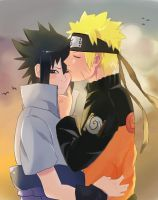 NaruSasu by keepcalmandsparkle91