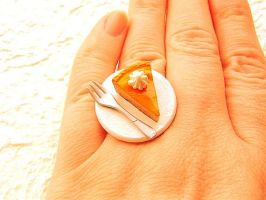 Pumpkin Cheesecake Ring by souzoucreations