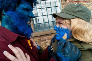 25 Oct MCM LON X-Men DoFP Beast and Mystique 2 by TPJerematic