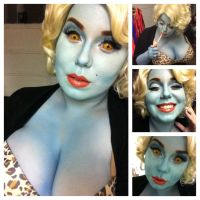 Hollywood Undead Series: Monster Glam Marilyn by Kabuki-Bunny