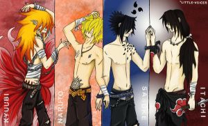 Naruto Guys - EDIT by Little-Voices