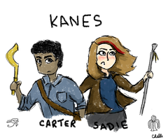 Egyptian Kanes by ChelliR