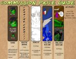 Current Commissions Prices by elementalgoddragon