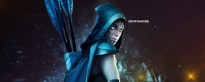 DOTA 2 Drow Ranger signature by sweet5050