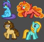 Moar My Little Ponies, Livestream Custom Ponies by Dragoart