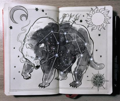 Ursa Major Constellation by Picolo-kun