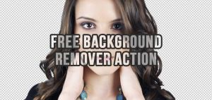 Free Background Remover Photoshop Action by Graphicadi