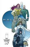 Halcyon Issue 1 Cover by RyanBodenheim