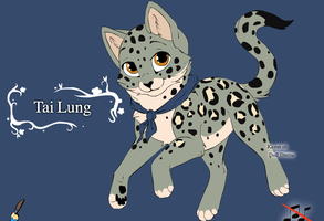 Kitten Tai Lung by JesamineFey123