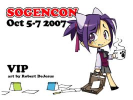 SogenCon Badge VIP by Banzchan
