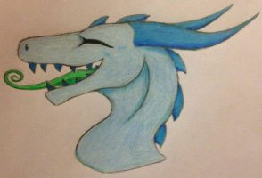 Giveaway - Request #8 -  The Derpy Dragon by sniperXtentapsy