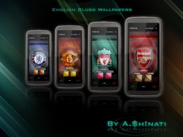 English Clubs Wallpapers by AShinati