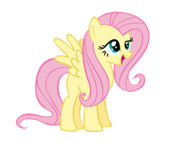 My Little Vector #6: Fluttershy (CUTIMRK SRSL OFF) by KocMoHaBT