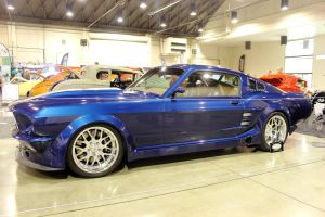 Blue Fastback Pony by DrivenByChaos