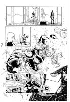 Avengers by Khoi Pham, inks by Curiel by lobocomics