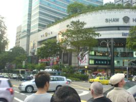 Orchard Road by chemicalorange