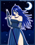 Princess Luna Human by ZantyARZ