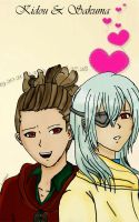 Kidou and sakuma request by LittlePrincessMay
