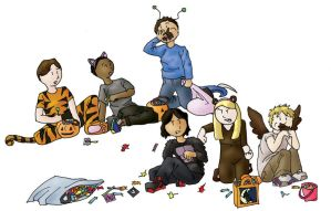 Animorphs: Halloween by HotPinkCoffee