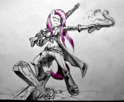 Saga is Magic : Pinkamena by Discommunicator