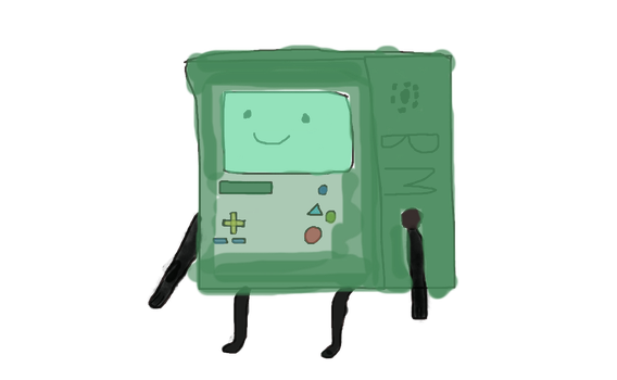 adventure time bmo by kittyrinbow