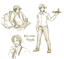 Some Feliciano by fullxmetalxgir