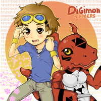 Takato and Guilmon by Kappei101
