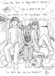 The bus sleepers by Neko-Maya