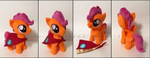 Plushie: Scootaloo - My Little Pony: FiM by Serenity-Sama