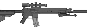 Marksman Carbine by Ghost17XD