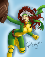 X-MEN ROGUE by oSuzakuo