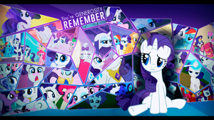 Remember Rarity by EmptyGrey