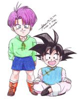 Goten Trunks 1 by hirokada
