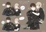 Xenoblade Chronicles X: HBxProtagonist by batensan