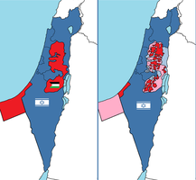 Bolter21's partition plan for Palestine. by bolter21