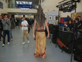 Cosply 2011: Pyramid head by superspy6