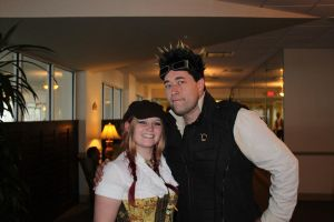 Me with Captain Robert of Abney Park! by AirshipPirateDaylina