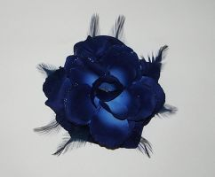 Blue rose by Gothicmamas-stock