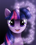 Twilight Sparkle by PaintedHoofprints