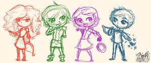 The Little Big Four by ninja1589