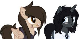 Collab: You got some'in to say, pal? by XteySockies