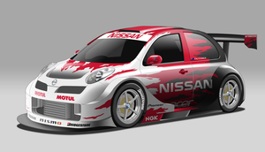 Nissan March/Micra Race Car - Rehash by StylePixelStudios