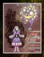Retype Event Character: Mimi Seance by Pencil-Artisan