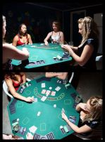030212 Poker shoot - 2nd hand by marshrr