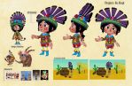 No Hopi Model by adailey